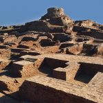 Ruins of archaeological site of Harappa
